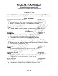 Mock Resume Sample Civilian And Federal Resumes Resume Valley Mock Example Sevte 9