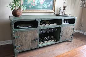 metal industrial furniture. Industrial Design Furniture Dining Room With Buffet Green Cabinet Metal B