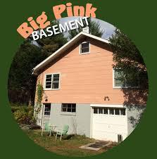 <b>Big Pink</b> Basement. Locus of Creative Inspiration
