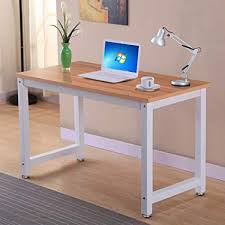 Home office work station Space For Two Image Unavailable Aviomiespalveluinfo Amazoncom Topeakmart Computer Desk Modern Design Laptop Pc Table