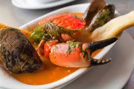 Parihuela, Peruvian Seafood Soup