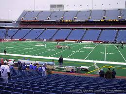 Ralph Wilson Stadium Interactive Seating Chart New Era Field Section 132 Rateyourseats Com