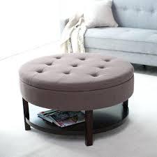 round ottoman cushion medium size of ottoman coffee table footstool coffee table ottoman cushions leather with
