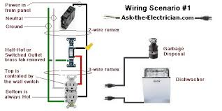 electrical wiring diagrams House Wiring Outlets disposal outlet wiring diagram house wiring outlets in basement