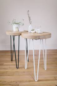 dining chairs hairpin legs wood arrowhead collective sidetables the fresh exchange middot hairpin stoo