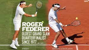 Roger Federer continues ...