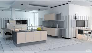Design Kitchen Layout Online Luxurious Contemporary Kitchen Design Showcasing Large Cleanly