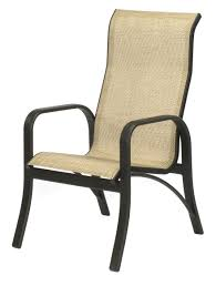 home trends patio furniture. Montego Bay Aluminum Sling High Back Dining Chair Home Trends Patio Furniture N