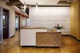 white and brown color combination for ikea reception desk design ideas