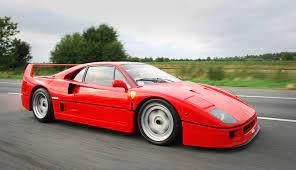 The f40 was built to celebrate ferrari's 40th anniversary. Ferrari F40 Wikipedia
