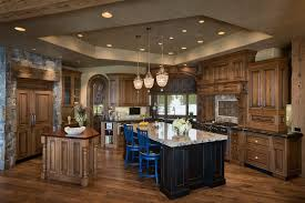 interesting rustic kitchen island lighting in plans 11