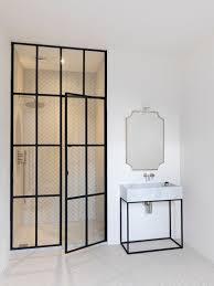 black framed shower doors implausible frame door illbedead interior design 17
