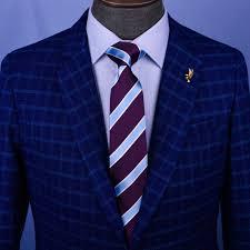 Purple Tie Light Blue Shirt Light Blue Purple Formal Business Striped 3 Inch Tie Mens Professional Fashion