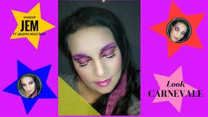 il mio nome è jem makeup carnevale ft gruppo whatsapp