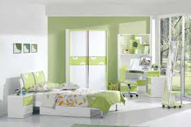 Small Teenage Bedroom Designs Cute Minimalist Bright Two Tone Green And White Teenage Bedroom