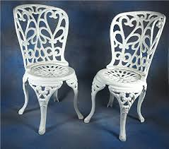 white wrought iron furniture. beautiful wrought iron chairs with additional home designing style white furniture