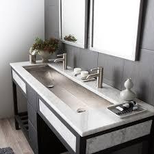 native trails  inch trough bath sink