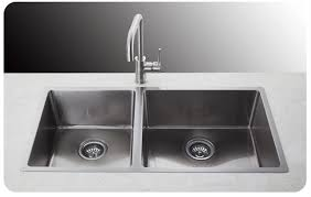 3 4 double bowl hand made stainless steel kitchen sink