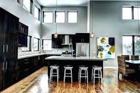 black kitchen cabinets with grey walls brown cabinets with gray walls dark brown kitchen cabinets with