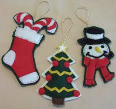 Felt Christmas Ornaments U2013 Awesome Homemade Decoration For Your TreeChristmas Felt Crafts