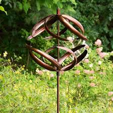 wind spinners large 7 rustic iron