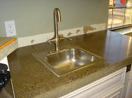 image of polished concrete countertop