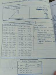 Perbandingan yang dimaksud adalah pada panjang. Tuliskan Rumus Perbandingan Trigonometri Sudut Berelasi Dalam Ukuran Radian A Sin P A Brainly Co Id