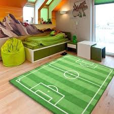 football field rug kids large small bedroom football field floor rug boys play mats ax football