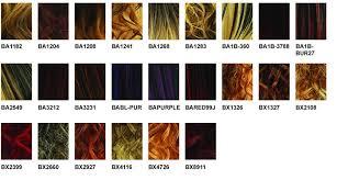 Wig Color Chart Bobbi Boss Balayage Color Chart Google Search Balayage