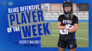 Audrey Maloney earns GLIAC Defensive Player of the Week mention - Grand  Valley State University Athletics