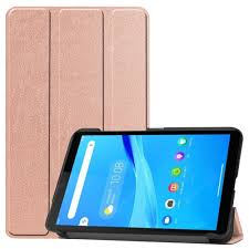 Tri-folded <b>Tablet Holster</b> PU Leather <b>Protective</b> Cover Smart Wake ...