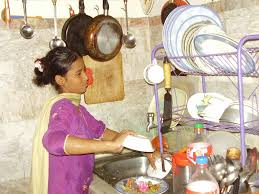 No School Only Work For 12 Year Old Pakistani Girl Working Daily.