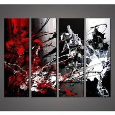 absolutely ideas black white and red wall art with modern painting for black and white wall art with red on red black white wall art with absolutely ideas black white and red wall art with modern painting