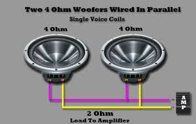 parallel wiring subs parallel image wiring diagram wiring subwoofers in parallel wiring auto wiring diagram schematic on parallel wiring subs