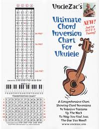 Uncle Zacs Ultimate Chord Inversion Chart For Gcea Ukulele