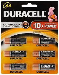 <b>Duracell</b> MN1500-LR06 <b>AA</b> Alkaline <b>Battery</b> with Duralock: Amazon ...