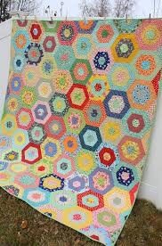 Scrappy Giant Hexagon quilt - Diary of a Quilter - a quilt blog & ... Merry-Go-Round. It's one I've wanted to make for years and was way  excited when my sister-in-law choose it as the pattern she'd like for their  wedding ... Adamdwight.com