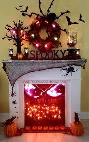 Indoor Halloween Lights 51 Spooky Diy Indoor Halloween Decoration Ideas For 2020
