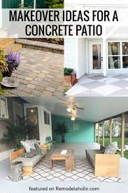 9 great concrete patio ideas for a makeover remodelaholic