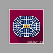 Amazon Com Cleveland Quicken Loans Arena Basketball