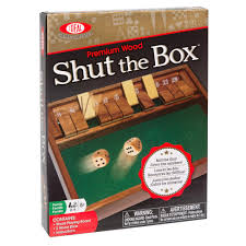 Wooden Box Board Games Shut the Box™ Wooden Board Game Fun Family Games by Ideal 22