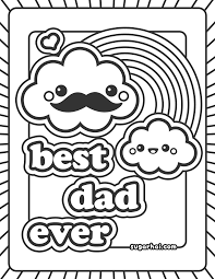 for happy birthday dad coloring pages and