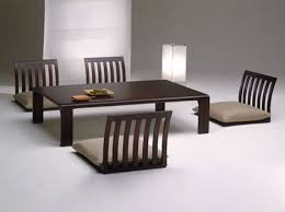 Floor Dining Table Floor Furnitures Japan Style Dining Room Tables Chairs  Furniture