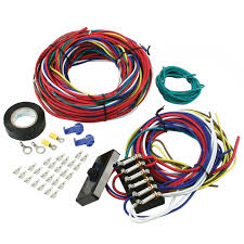 buggy manx wiring harness dune buggy parts sandrail parts vw empi 9466 vw dune buggy sand rail baja universal wiring harness fuse box