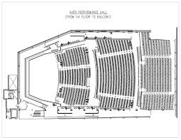 Purdue Elliott Hall Seating Chart Special Events Auer Performance Hall Seating Chart