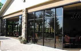 masterful sliding glass patio door track commercial sliding glass doors multi track and dual track glass
