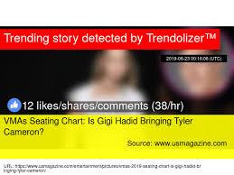 Utc Seating Chart Vmas Seating Chart Is Gigi Hadid Bringing Tyler Cameron