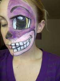practice cheshire cat makeup