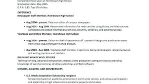 Advertising Internship Resume Cool High School Internship Resume Resume Sample High School Student