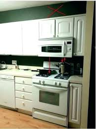 over stove microwave height.  Microwave Stove With Microwave On Top Over The Range Height   For Over Stove Microwave Height R